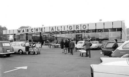 Marché Genève en 1966